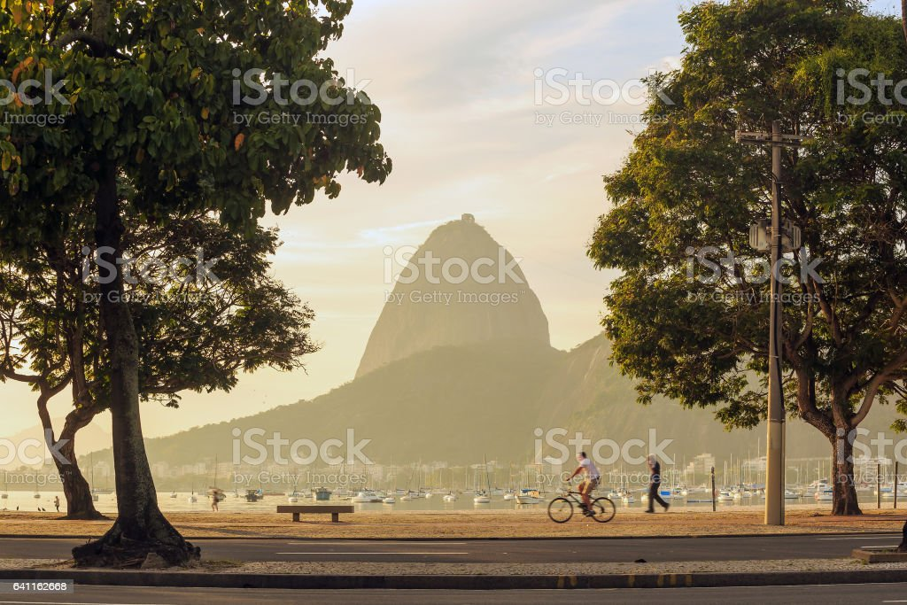 mountain Sugar Loaf stock photo