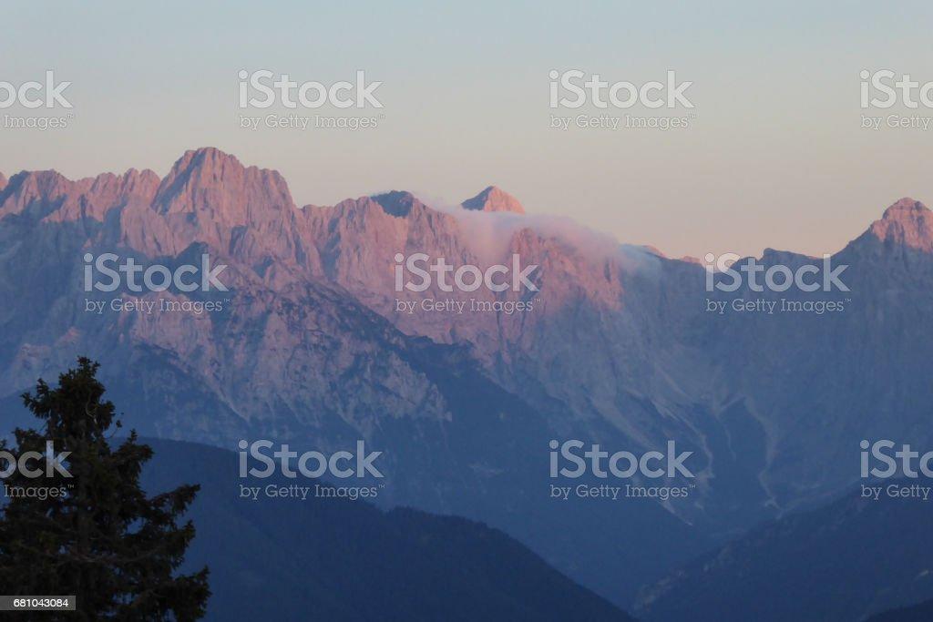Mountain summer Carinthia royalty-free stock photo
