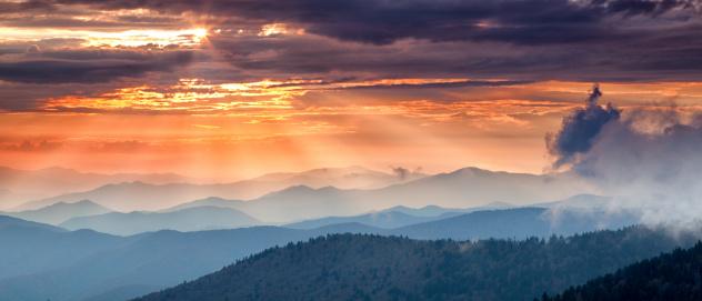 istock Mountain Sunset 155374237