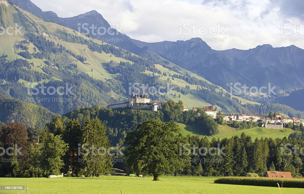 mountain switzerland royalty-free stock photo