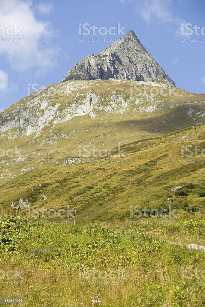 mountain switzerland royalty-free stock photo