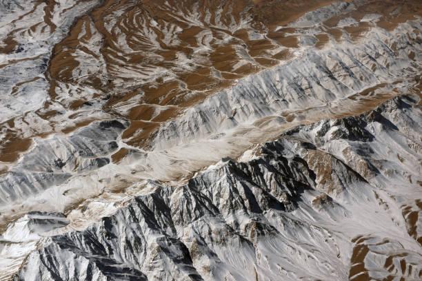 Terrain de montagne de la hauteur. - Photo