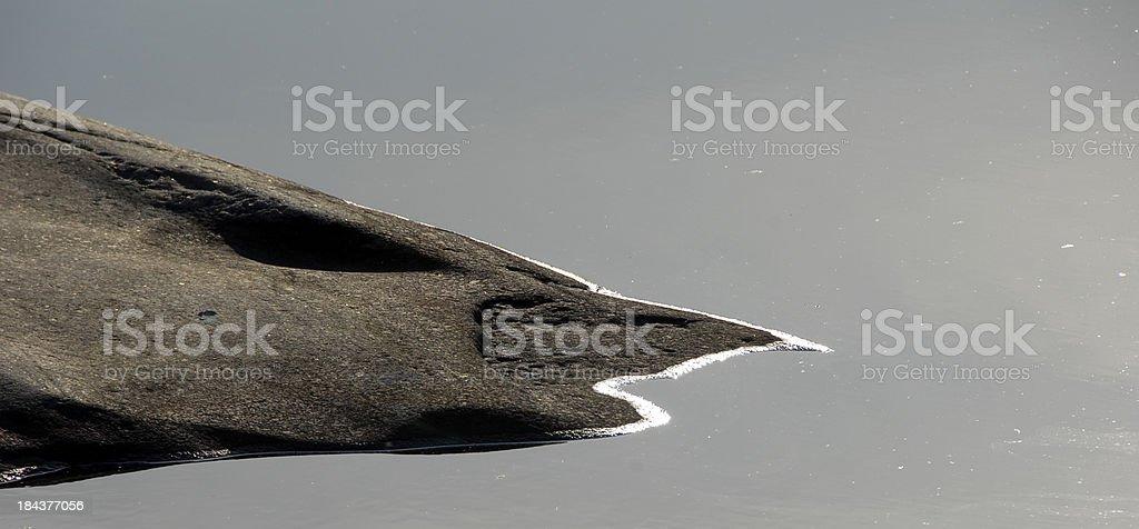 Mountain texture stock photo
