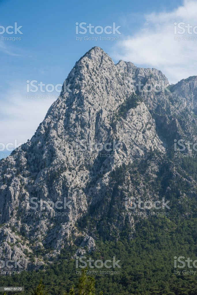 Mountain Top High Contrast zbiór zdjęć royalty-free
