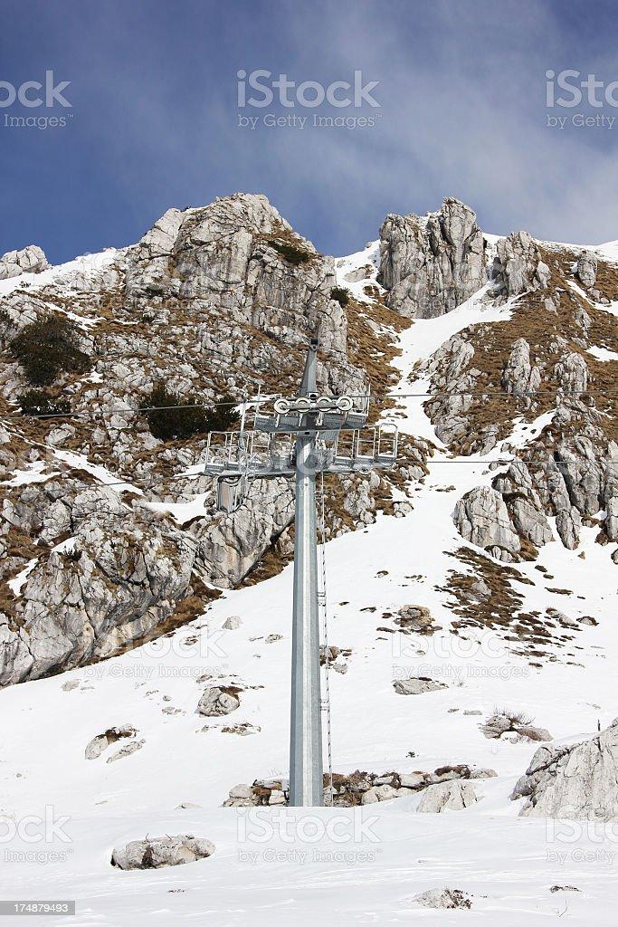 Mountain tourist resort royalty-free stock photo