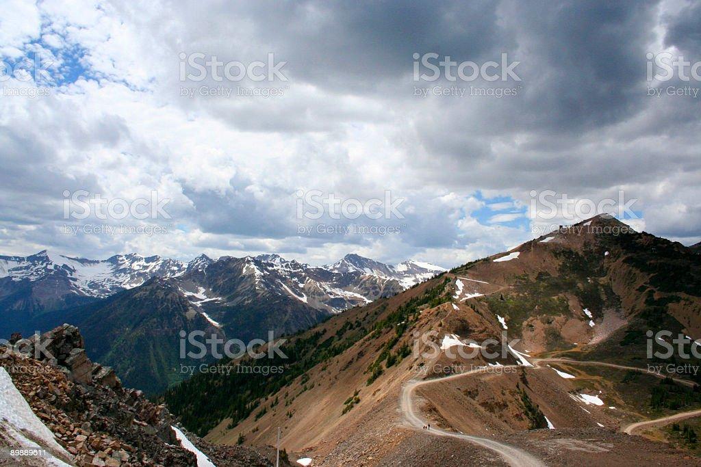 Mountain Trail royalty-free stock photo