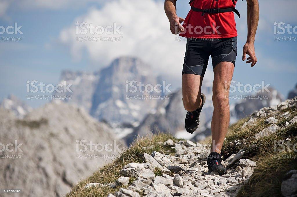 Mountain-Trail-Läufer – Foto