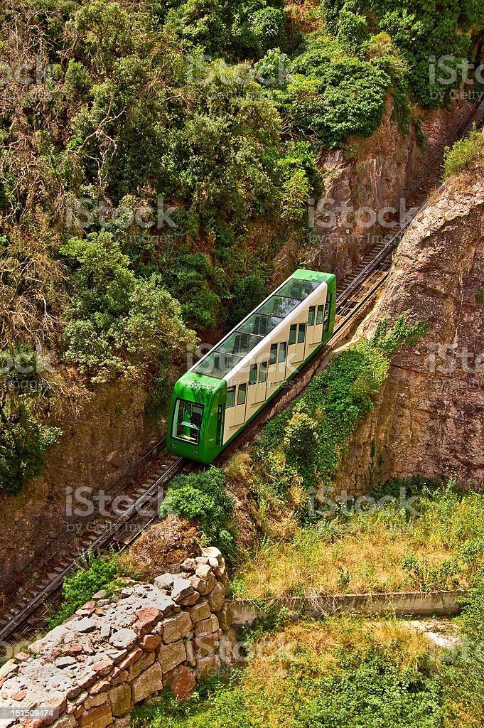 Mountain Train stock photo
