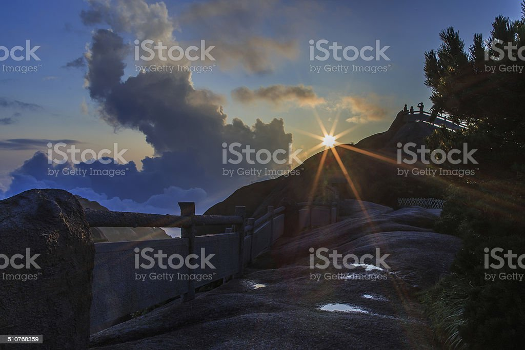 mountain unter der Sonne – Foto