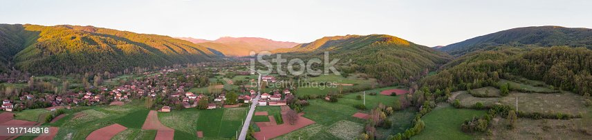 Mountain landscape. Balkan Mountain.