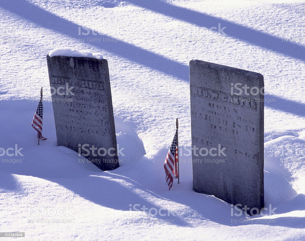 Mountain View Cemetery I stock photo