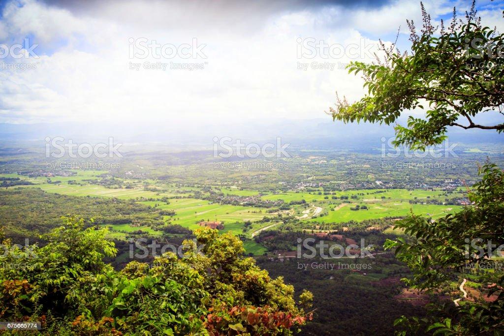 Mountain View & good nature royalty-free stock photo
