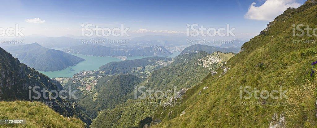 Mountain view. royalty-free stock photo