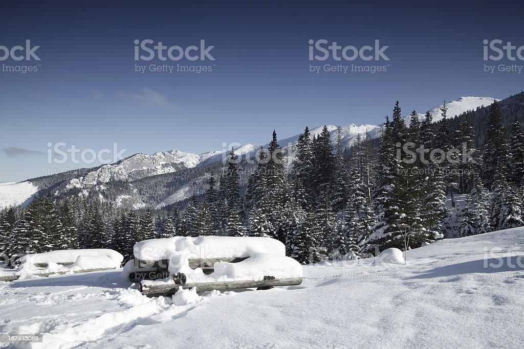 Mountain view royalty-free stock photo