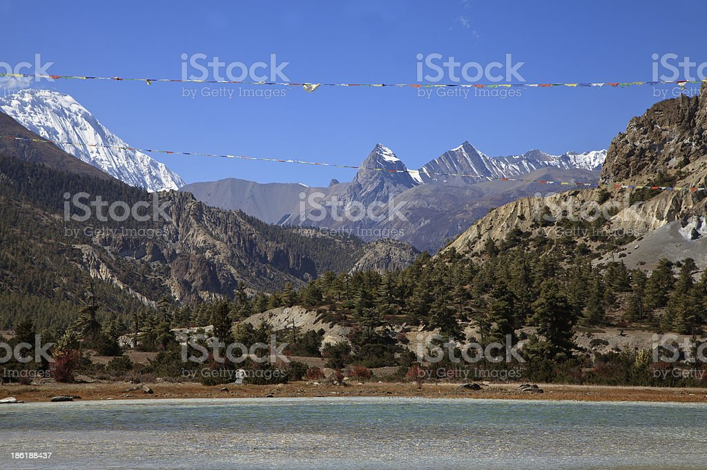 Mountain view. royalty-free stock photo
