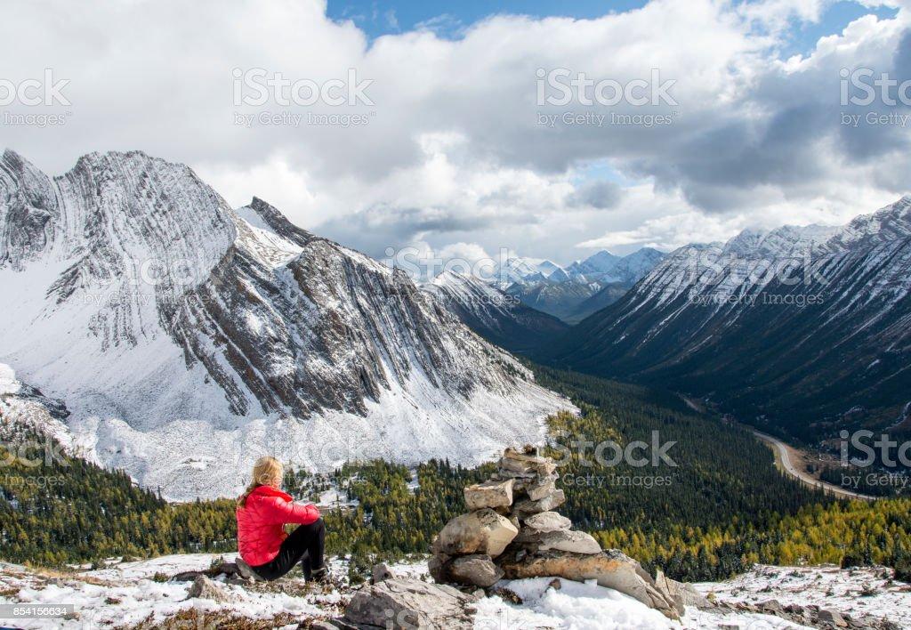 Blick auf die Berge  – Foto