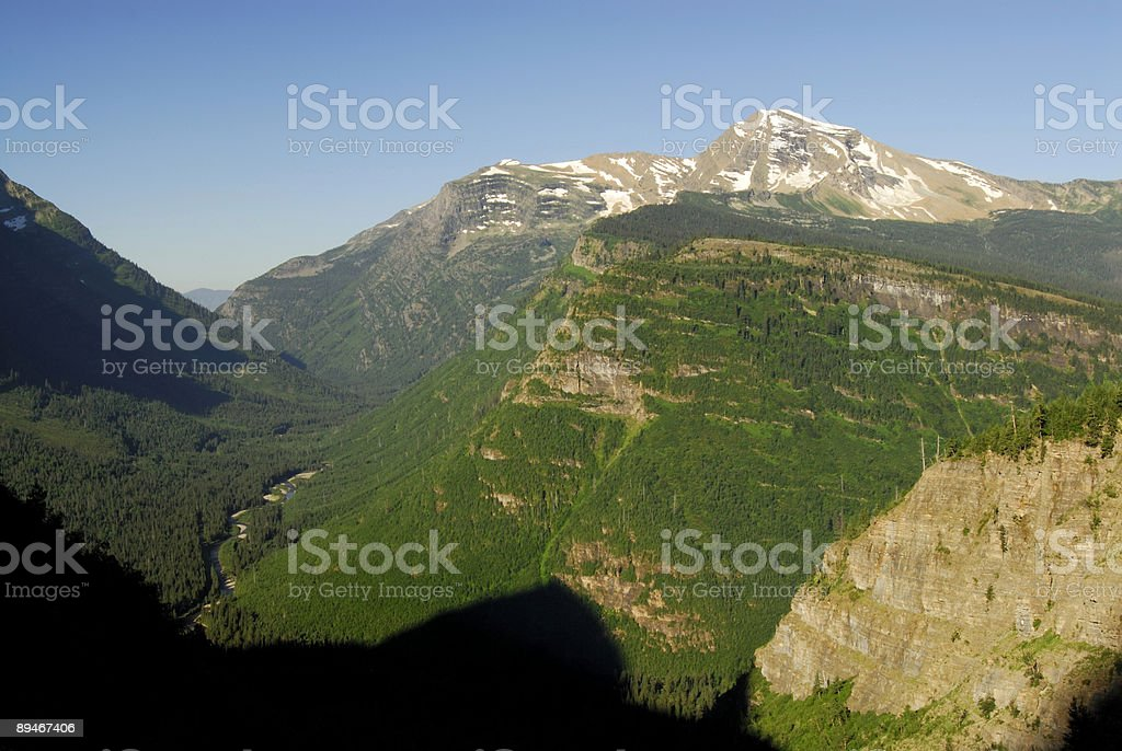 Mountain View 免版稅 stock photo