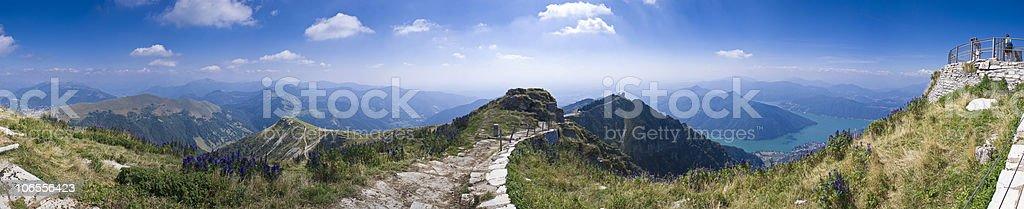 Mountain views royalty-free stock photo