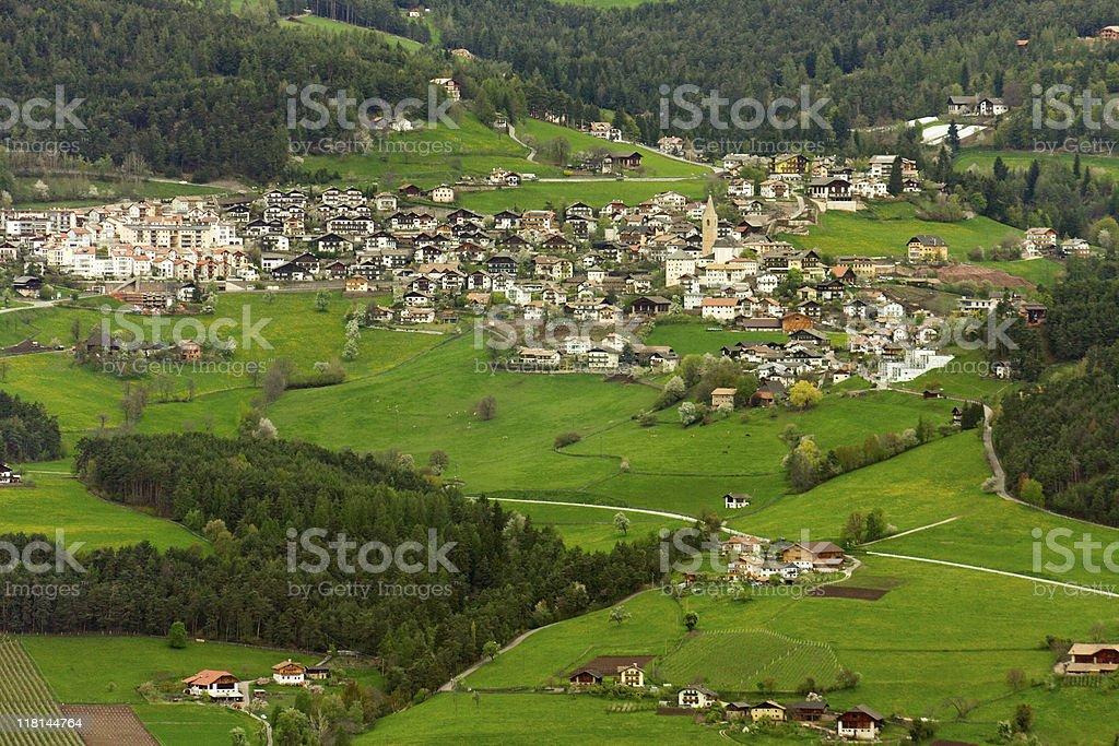 Mountain village, Italy royalty-free stock photo