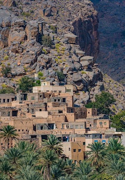 Mountain village of Misfat Al Abriyeen, Sultanate of Oman – Foto
