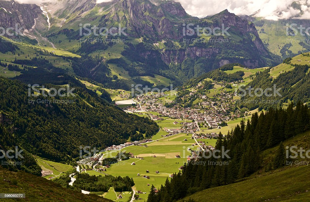 Mountain Village  Lizenzfreies stock-foto