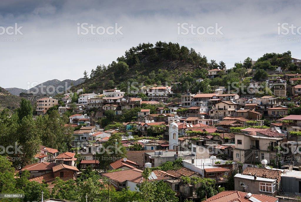Mountain Village Resort de Palaichori Chipre foto royalty-free