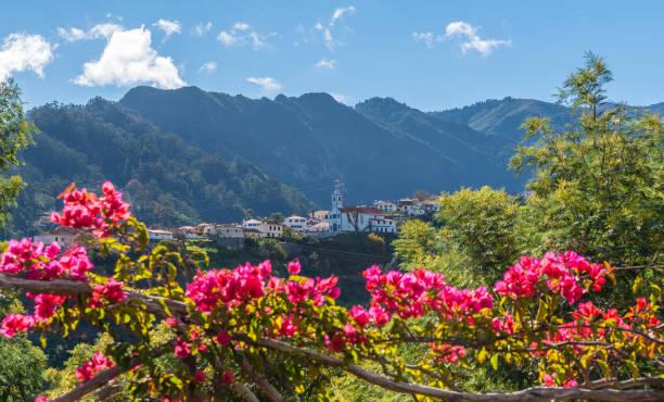 mountain village sao vicente, madeira island, portugal - funchal madeira imagens e fotografias de stock