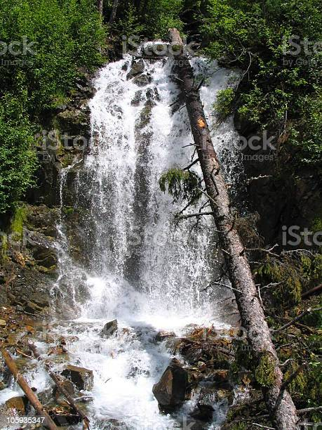 Mountain Waterfall Stock Photo - Download Image Now