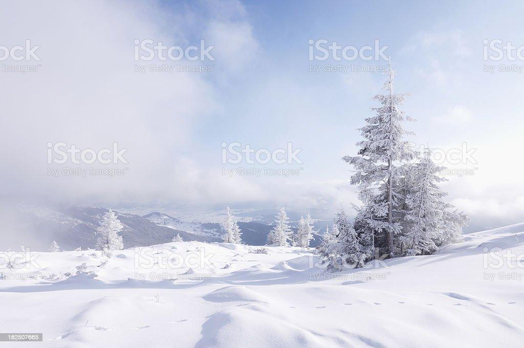 mountain winter royalty-free stock photo
