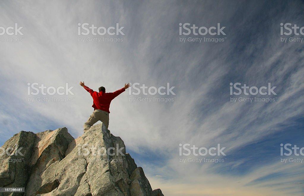 Mountain Worship 3 royalty-free stock photo