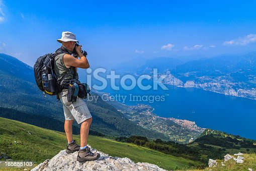 istock Mountaineer Photographer 165888103