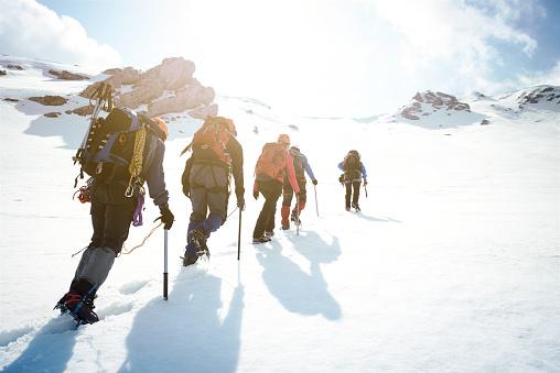 Wspinaczka Górska - zdjęcia stockowe i więcej obrazów Alpinizm