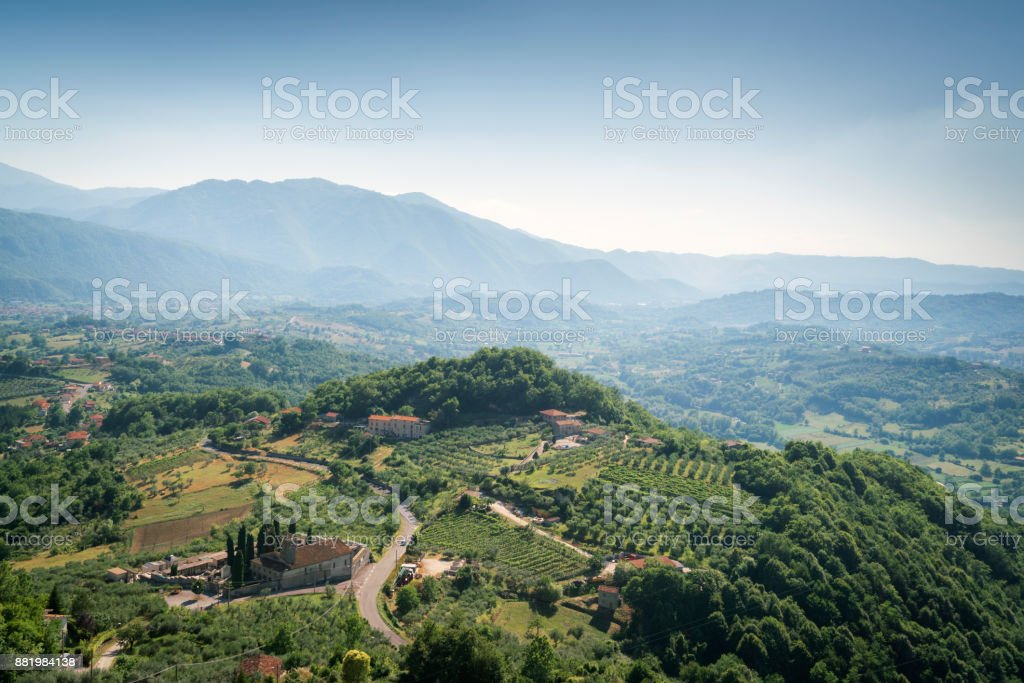 zona montañosa de Picinisco, Abruzzo - foto de stock