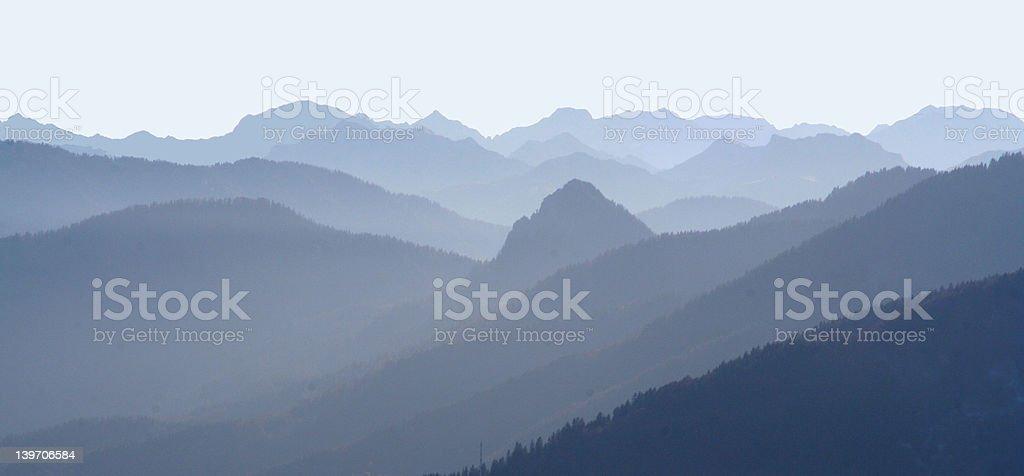 Mountainous Country royalty-free stock photo