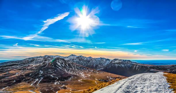 Mountainous Landscape stock photo
