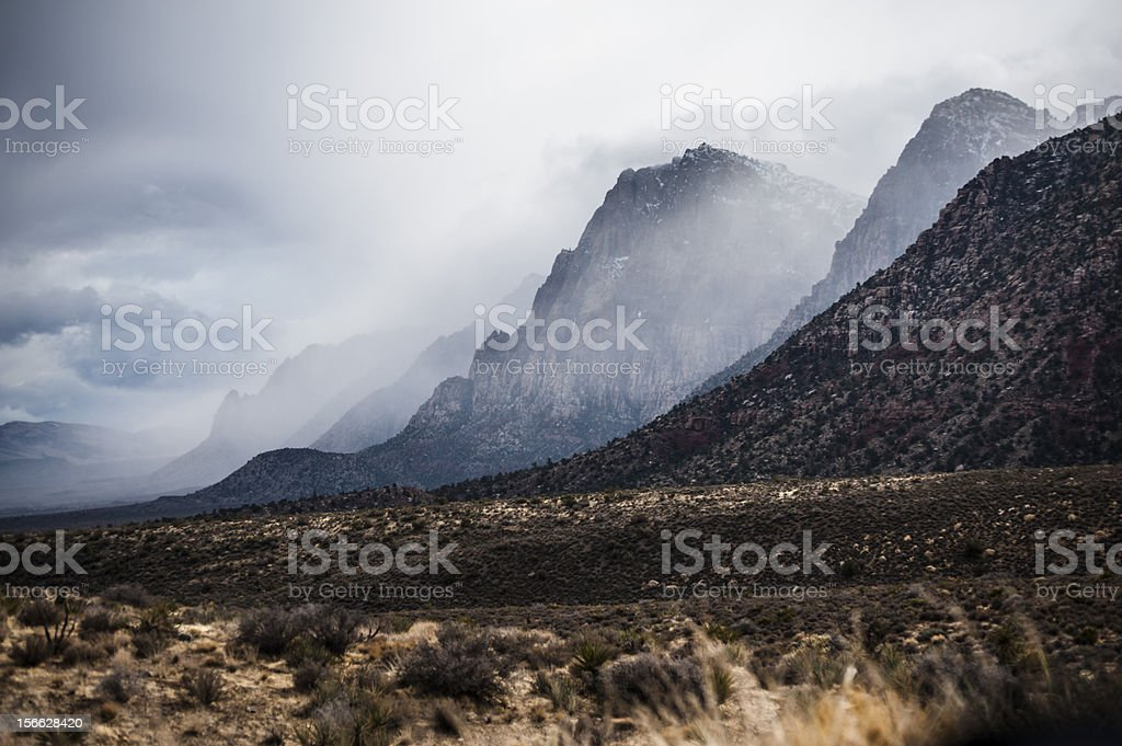 Mountainous royalty-free stock photo
