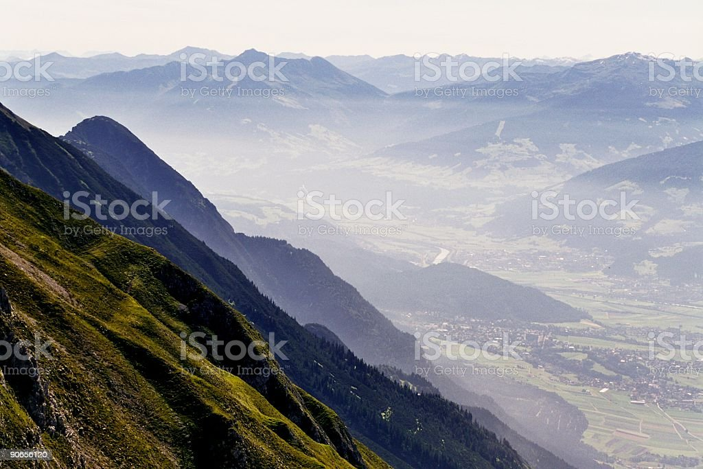 Mountainous royalty-free stock photo