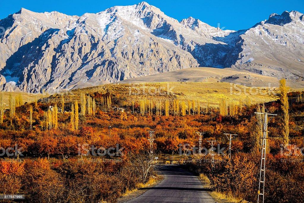 Mountains Aladaglar Demirkazik at Turkey stock photo