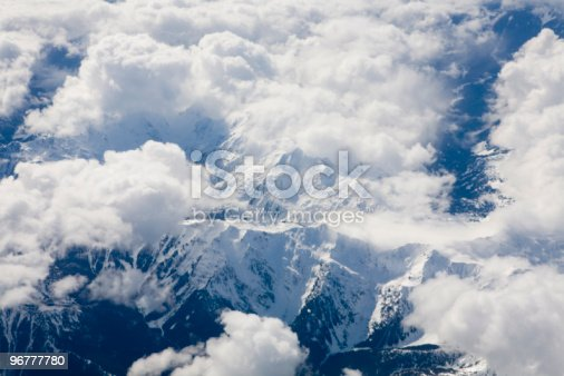 174963269 istock photo Mountains and clouds 96777780