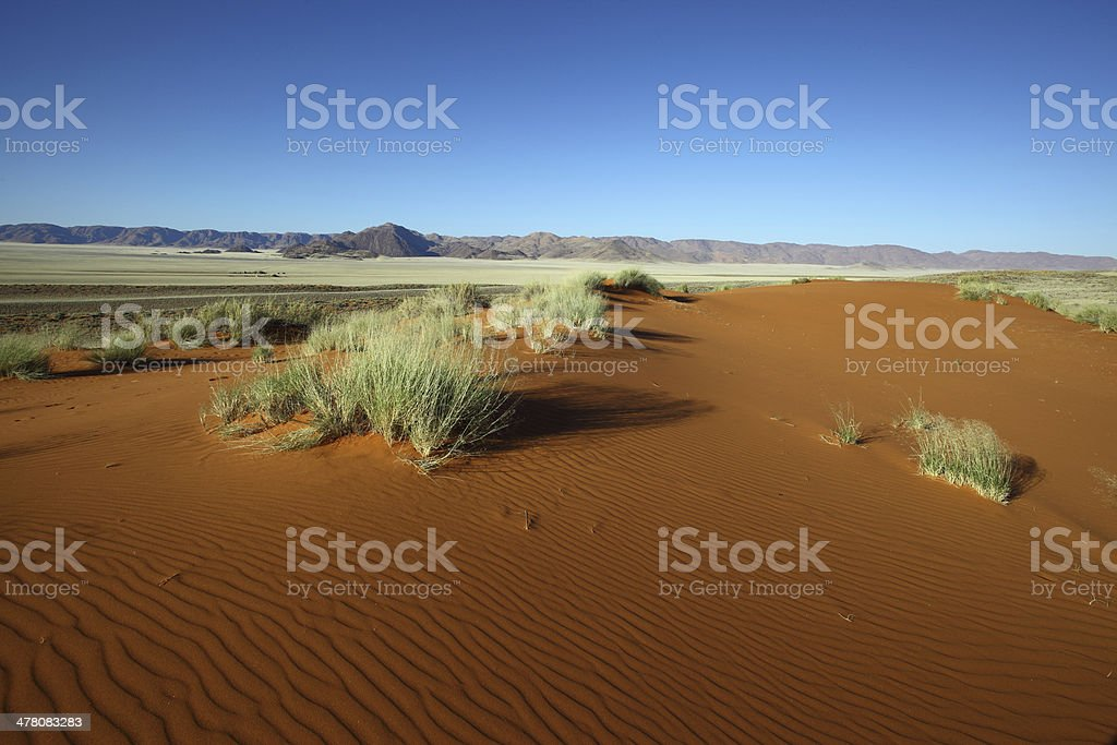 Mountains and Dunes royalty-free stock photo