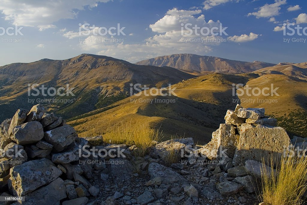 Mountains And Hills stock photo