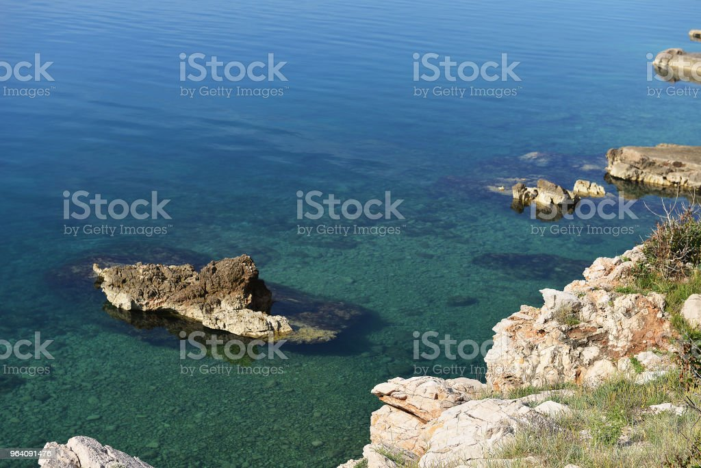 mountains and rocks - Royalty-free Bay of Water Stock Photo