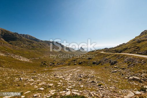 Beautiful landscapes South East Europe, Durmitor mountain in Montenegro