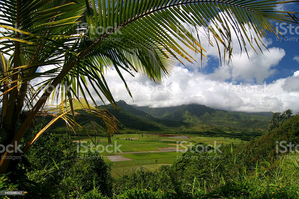 Mountains and valley of Kuai royalty-free stock photo