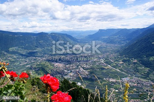 istock Mountains and valleys 606004264