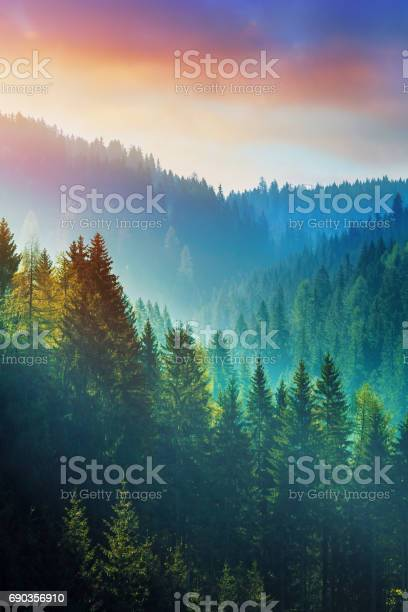 Photo of Mountains at sunrise - the Dolomites in South Tyrol, Italy