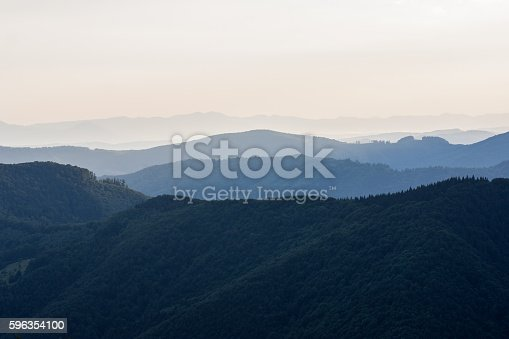 Mountains At Sunset Carpathians Stock Photo & More Pictures of Animal Wildlife