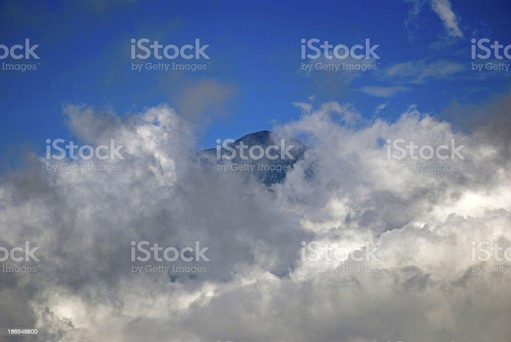 Mountains, Bhutan stock photo