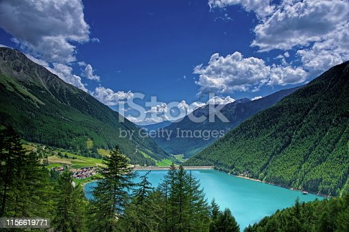 Mountains by lake Vernagt,South-Tirol,Italy. Please see more similar pictures of my Portfolio. Thank you!