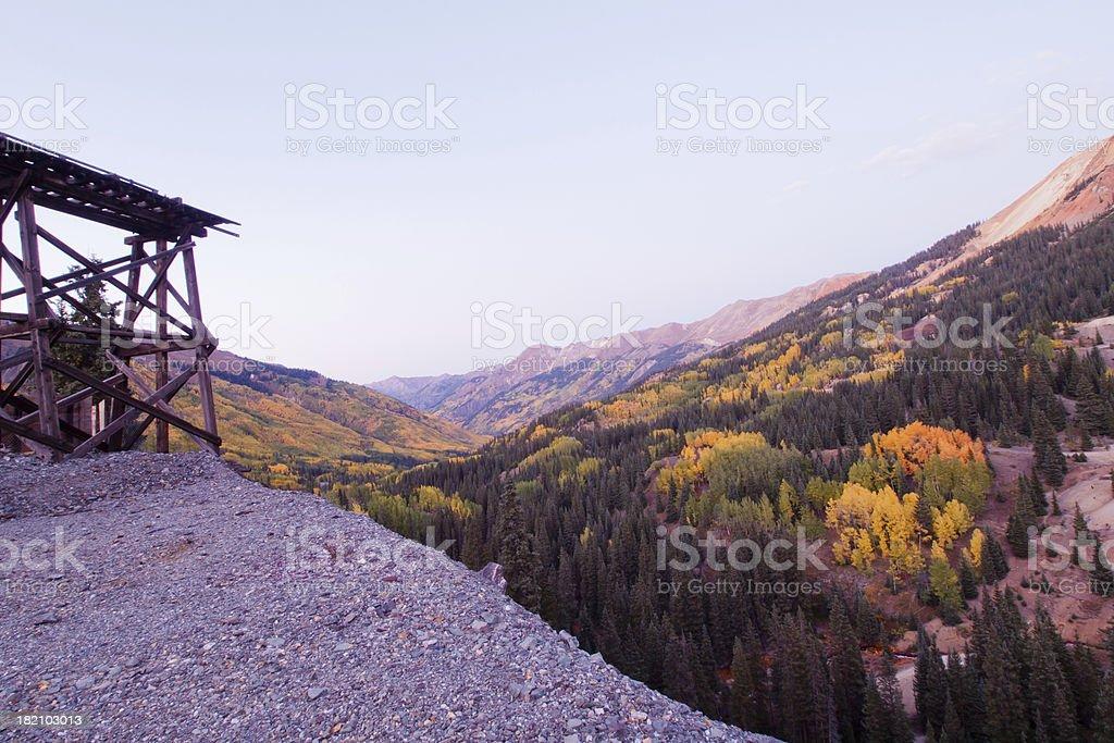 Mountains in Autumn royalty-free stock photo